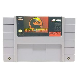Mortal Kombat Seminovo - SNES