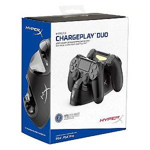 ChargePlay Duo HyperX - Carregador para Controle PS4 Dualshock 4