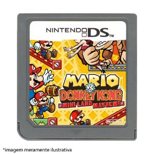 Mario Vs Donkey Kong: Mini-Land May Hem! Seminovo (SEM CAPA) - Nintendo DS