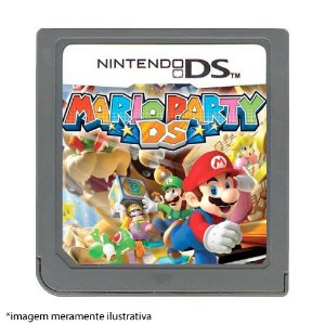 Mario Party DS Seminovo (SEM CAPA) - Nintendo DS