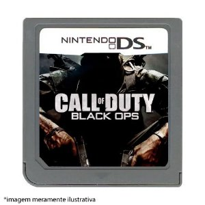 Call of Duty: Black Ops Seminovo (SEM CAPA) - Nintendo DS