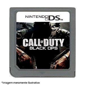 Call of Duty: Black Ops Seminovo (SEM CAPA) - Nintendo DS