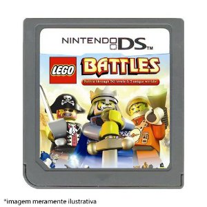 LEGO Battles Seminovo (SEM CAPA) - Nintendo DS