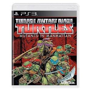 Teenage Mutant Ninja Turtles: Mutants in Manhattan Seminovo - PS3