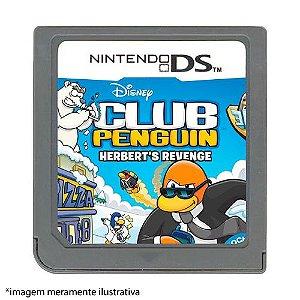 Club Penguin: Herbert's Revenge Seminovo (SEM CAPA) - Nintendo DS