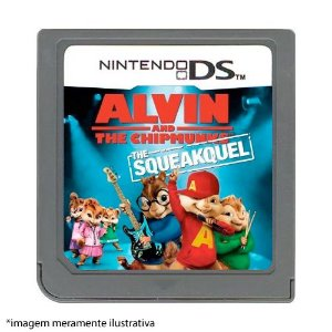 Alvin and The Chipmunks: The Squeakquel Seminovo (SEM CAPA) - Nintendo DS