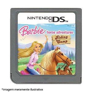 Barbie Horse Adventures: Riding Gamp Seminovo (SEM CAPA) - Nintendo DS