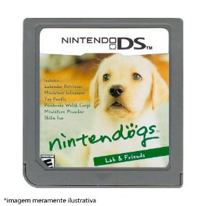 Nintendogs: Lab & Friends Seminovo (SEM CAPA) - Nintendo DS