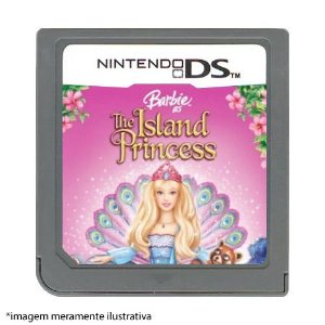 Barbie: The Island Princess Seminovo (SEM CAPA) - Nintendo DS