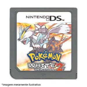 Pokémon White Version 2 Seminovo (SEM CAPA) - Nintendo DS