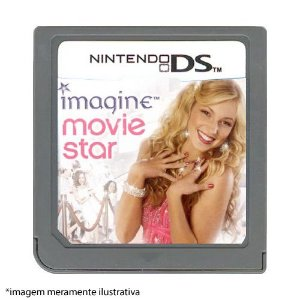 Imagine Movie Star Seminovo (SEM CAPA) - Nintendo DS