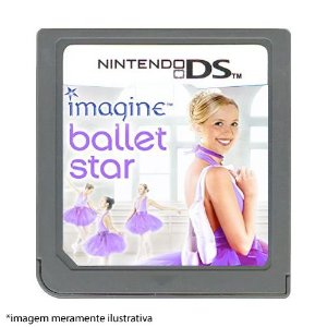 Imagine Ballet Star Seminovo (SEM CAPA) - Nintendo DS