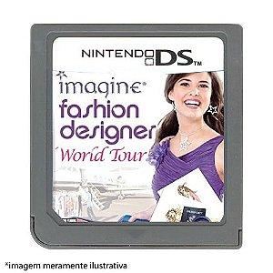 Imagine: Fashion Designer World Tour Seminovo (SEM CAPA) - Nintendo DS