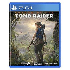 Shadow of Tomb Raider - A Definitive Edition Seminovo - PS4