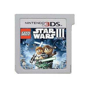 LEGO Star Wars III: The Clone Wars Seminovo (SEM CAPA) - 3DS