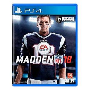 Madden NFL 18 Seminovo - PS4