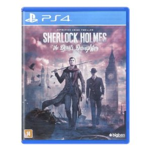Sherlock Holmes: The Devil's Daughter Seminovo - PS4