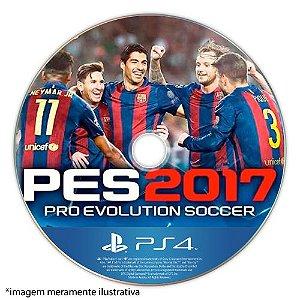 Pro Evolution Soccer 2017 (PES 17) Seminovo (SEM CAPA) - PS4