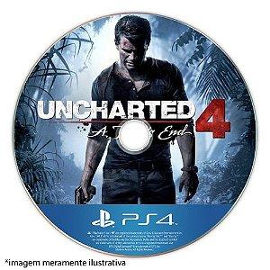 Uncharted 4: A Thief's End Seminovo (SEM CAPA) - PS4