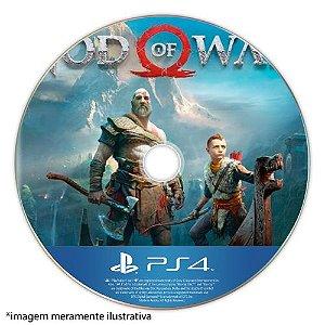 God of War Seminovo (SEM CAPA) - PS4
