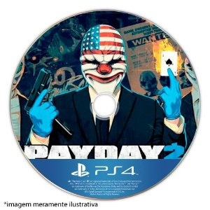 Payday 2 (Crimewave Edition) Seminovo (SEM CAPA) - PS4