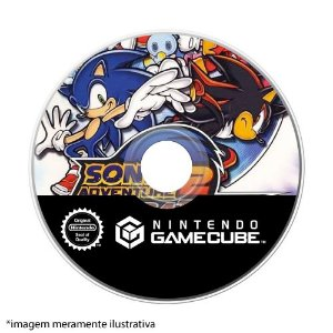 Sonic Adventure 2 Battle Seminovo (SEM CAPA) - GameCube