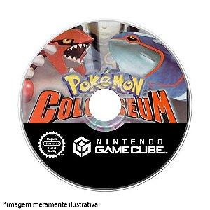 Pokémon Colosseum Seminovo (SEM CAPA) - GameCube