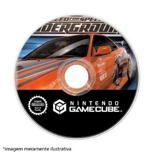 Need for Speed Underground Seminovo (SEM CAPA) - GameCube
