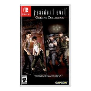 Resident Evil Origins Collection Seminovo (Codigos não Usados) - Nintendo Switch
