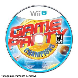 Game Party Champions Seminovo (SEM CAPA) - Wii U
