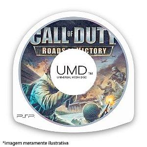 Call of Duty: Roads to Victory (SEM CAPA) Seminovo - PSP