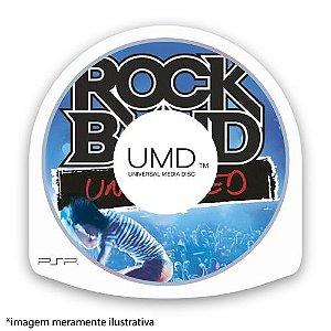 Rock Band Unplugged (SEM CAPA) Seminovo - PSP