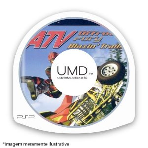 ATV Offroad Fury: Blazin' Trails (SEM CAPA) Seminovo - PSP