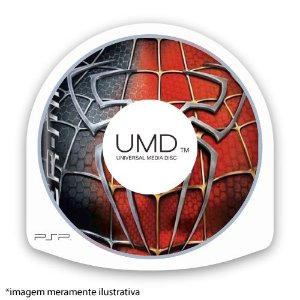 Spider-Man 3 (SEM CAPA) Seminovo - PSP