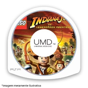 LEGO Indiana Jones: The Original Adventures (SEM CAPA) Seminovo - PSP