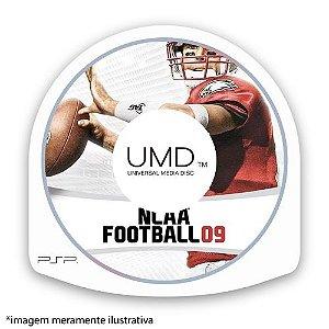 NCAA Football 09 (SEM CAPA) Seminovo - PSP