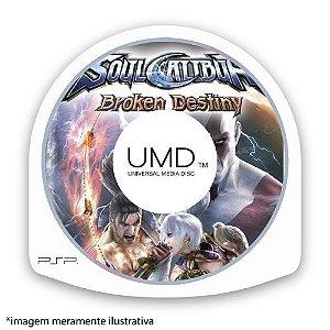 SoulCalibur: Broken Destiny (SEM CAPA) Seminovo - PSP