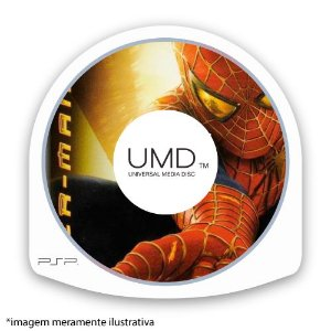 Spider-man 2 (SEM CAPA) Seminovo - PSP