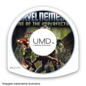 Marvel Nemesis: Rise of the Imperfects (SEM CAPA) Seminovo - PSP