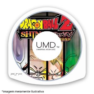 Dragon Ball Z: Shin Budokai - Another Road (SEM CAPA) Seminovo - PSP