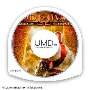 God of War: Chains of Olympus (SEM CAPA) Seminovo - PSP