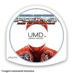 Spider-Man Web of Shadows (SEM CAPA) Seminovo - PSP
