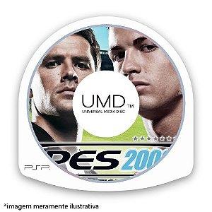 Pro Evolution Soccer 2008 (PES 08) (SEM CAPA) Seminovo - PSP