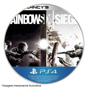 Tom Clancy's: Rainbow Six Siege (SEM CAPA) Seminovo - PS4