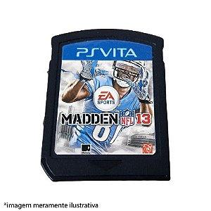 Madden NLF 13 (SEM CAPA) Seminovo - PS Vita