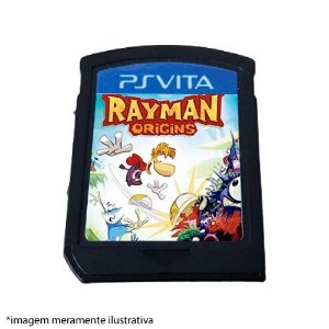 Rayman Origins (SEM CAPA) Seminovo - PS Vita