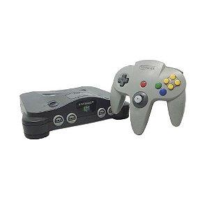 Console Nintendo 64 Preto Seminovo - Nintendo