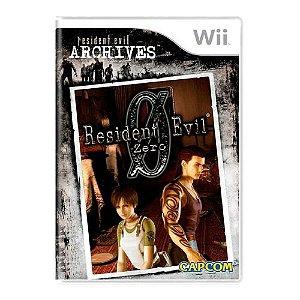 Resident Evil Zero - Nintendo Wii
