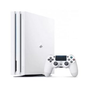 Console PlayStation 4 PRO 1TB Branco Seminovo - Sony