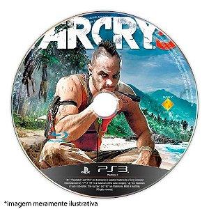Far Cry 3 (SEM CAPA) Seminovo - PS3